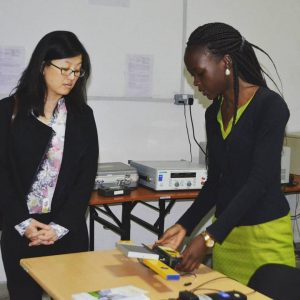 DR RANYEE CHIANG VISITS CREEC-REGIONAL TESTING AND KNOWLEDGE CENTRE