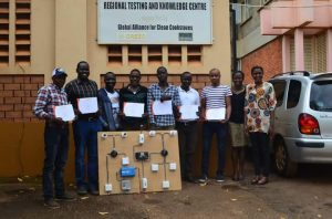 CREEC SOLAR TRAINING:TRAINEES BECOME EXPERTS IN SOLAR PV.