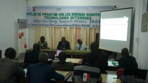 CREEC AT THE UNIVERSITE MARIEN NGOUABI FOR THE AFRICA CLEAN ENERGY RESEARCH ALLIANCE TRAINING