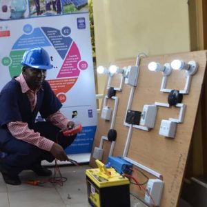 SOLAR TECHNICIANS TRAINED IN MBALE DISTRICT