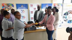 CREEC HANDS OVER TESTING EQUIPMENT DURING LETS GO SOLAR CAMPAIGN