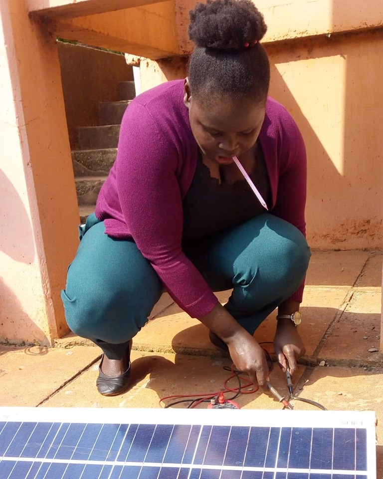 CREEC CONDUCTS TRAININGS FOR SOLAR TECHNICIANS