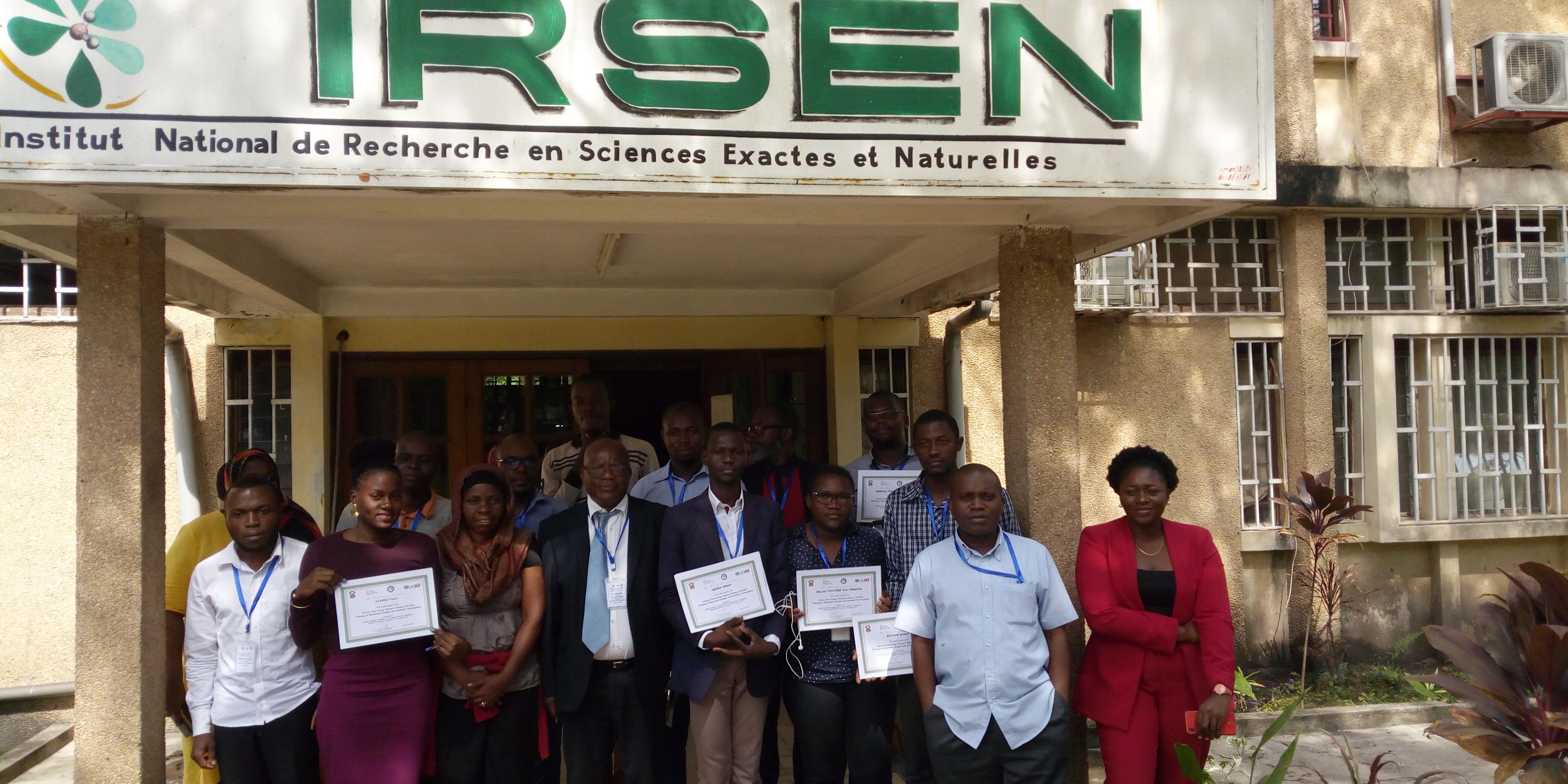 CREEC AT ACERA TRAINING IN CONGO