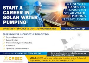 Sign up for a complete solar water pumping course!
